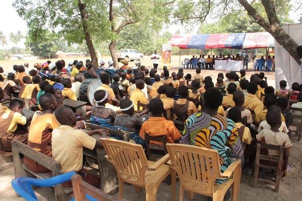 Abutia – Tedeafenui D/A Basic School gets five-unit classroom block