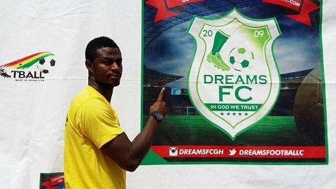 Dreams FC defender Godfred Asante