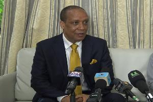 Independent presidential candidate, Kwame Asiedu Walker