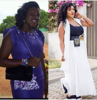 The old Akosua Vee and the current Akosua Vee