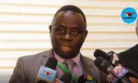 Dr Daniel Asare, CEO of  Korle-Bu Teaching Hospital