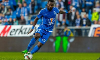 Aziz Tetteh has previously played for Udinese, CD Leganes, Granada and Platanias