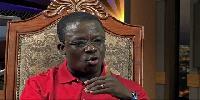 Head of Religious Broadcast at Multimedia group, Rev. Yaw Owusu Ansah
