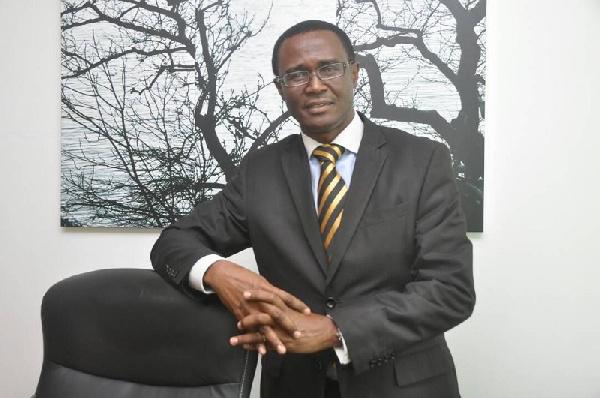 Ammishaddai Owusu-Amoah, Commissioner-General of GRA