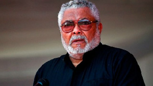 The late Jerry John Rawlings