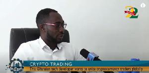 Ghanaian tech developer, Benjamin Anderson