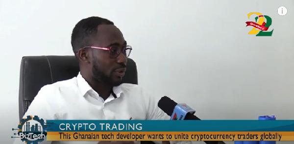 BizTech: The Ghanaian tech developer seeking to unite cryptocurrency traders