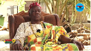 Agbotadua Togbi Kumassah is a historian and spokesperson to the Awoemefia