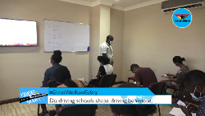 GhanaWeb spent a day at the Top Tech driving institute