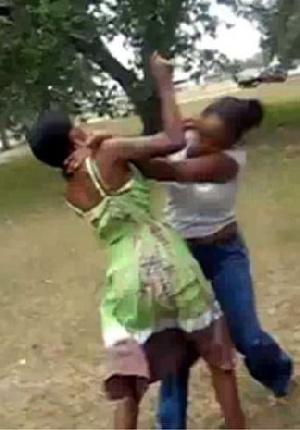 File Photo: Two women fighting