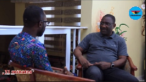 Sammy Crabbe was speaking to GhanaWeb Editor, Kwabena Kyenkyenhene Boateng
