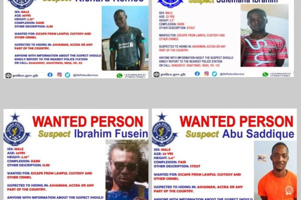 Prison Break: Police recaptures seven suspects, five others still on the run