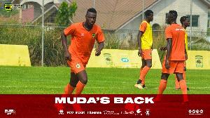 Asante Kotoko Midfielder, Mudasiru Salifu