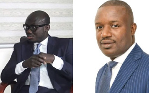Godfred Dame and John Jinapor have clashed on the issue