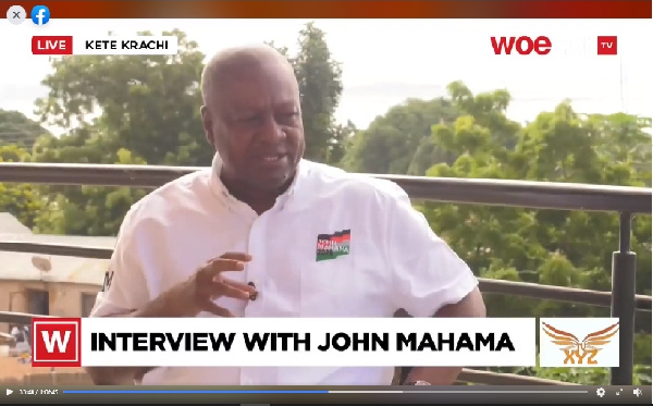I won't continue vicious cycle of revenge - Mahama pledges