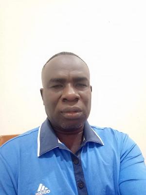 Tournament Director of  Ghana PGA, Akwasi Prempeh