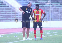 Bonsu was introduced in the second half at the Stade d'El Menzah