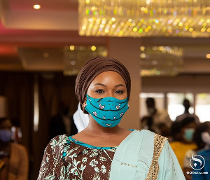 Samira Bawumia=MaskOn2
