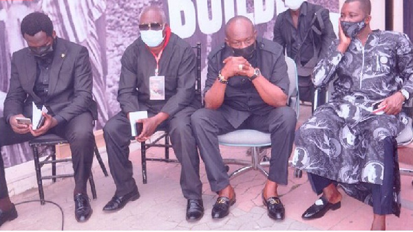 Kenpong pays Rawlings last respect