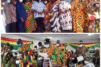 Bawumia during the inauguration
