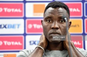 Kwadwo Asamoah Presser