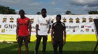 Edwin Gadayi won the GNPC Ghana's Fastest  Kumasi Open