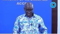 Kwaku Asomah-Cheremeh, Lands Minister