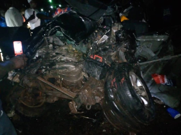 Breaking: NPP Parliamentary Candidate, Abu Kamara dies in a car crash 2