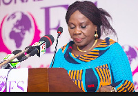 Minister of Sanitation and Water Resources, Ms. Cecilia Dapaah