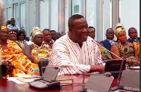 Minister for Religious and Chieftaincy Affairs, Mr Samuel Kofi Dzamesi