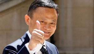 Ghana received some consignment from the Jack Ma Foundation