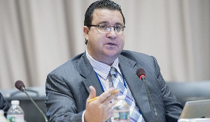 World Bank Country Director, Pierre Laporte