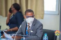 Francis-Xavier Sosu, Madina MP