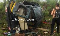 Urvan bus had a brake failure