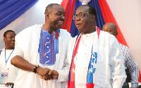 John Boadu and Freddie Blay