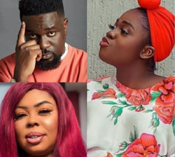 Sarkodie, Afia Schwarzenegger and Mzbel have been involved in several controversies this year