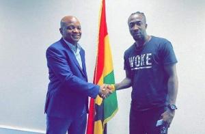 Danjuma Ademoala Kuti was signed by Hearts of Oak before the COVID-19 break