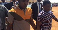 Suspected killers of J.B Danquah being escorted from the court premises