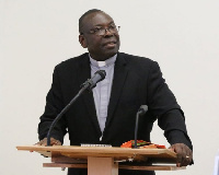 The late Very Reverend Dr Seth Senyo Agidi