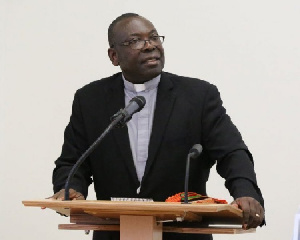 Moderator of Evangelical Presbyterian Church, Rt. Rev. Dr. Seth Senyo Agidi
