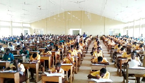 Final year JHS pupils are returning to school to complete their academic year