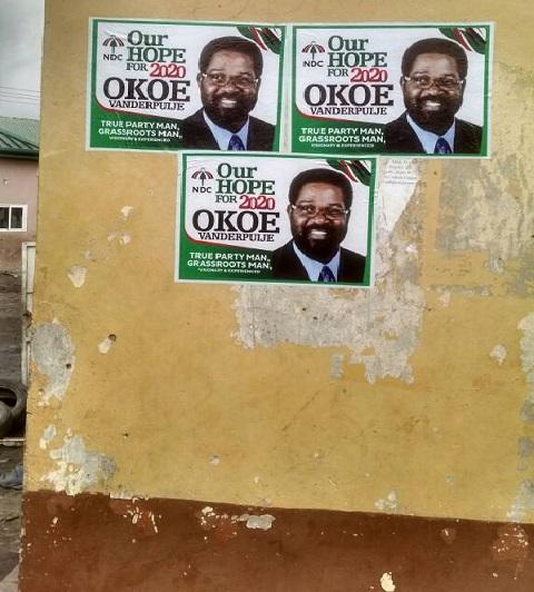 Posters of Alfred Okoe Vanderpuije
