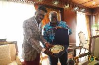 Shatta Wale and President Akufo-Addo