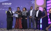 HFC Bank Ghana receives the award