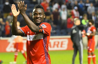 David Accam is reportedly unhappy at Chicago Fire