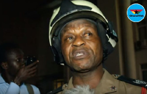 Prince Billy Anaglate, Public Relations Officer of the Ghana National Fire Service