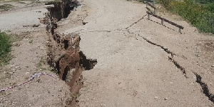 The quake was at a depth of 10 kilometres