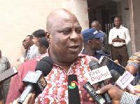 Ishmael Ashitey, Greater Accra Regional Minister