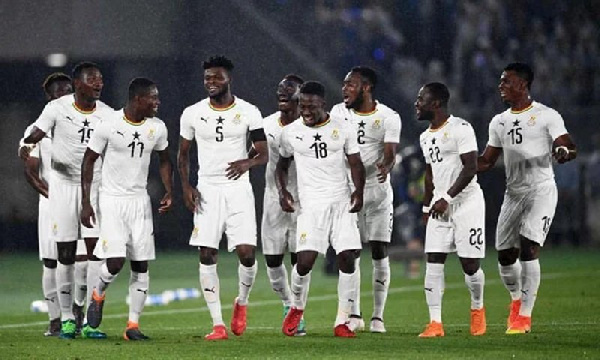 Ghana's 2022 World Cup qualifying group confirmed