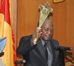 President John Mahama Sworn In
